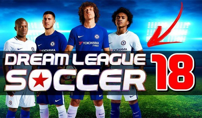 Логотип Dream League Soccer 2018