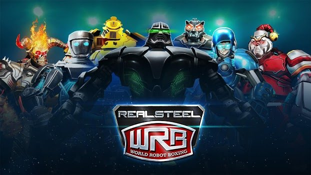Логотип Real Steel World Robot Boxing