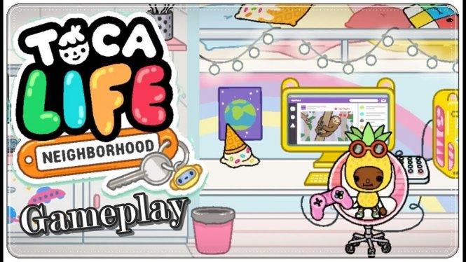 Логотип Toca Life: Neighborhood
