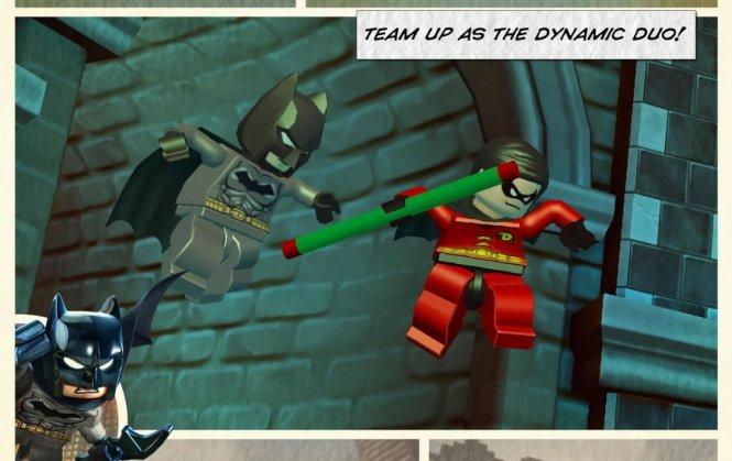 Скачать бесплатно игру LEGO Batman для PSP