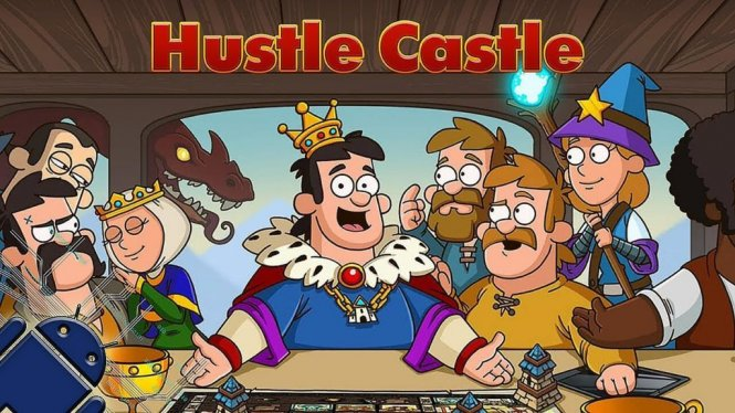 Логотип Hustle Castle: Fantasy Kingdom