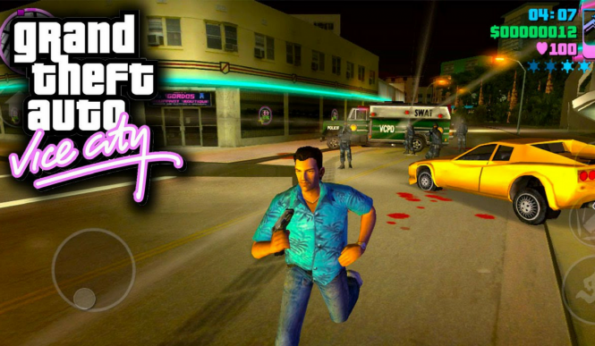 Логотип Grand Theft Auto Vice City