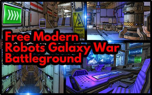 Логотип Free Modern Robots Galaxy War : Battleground